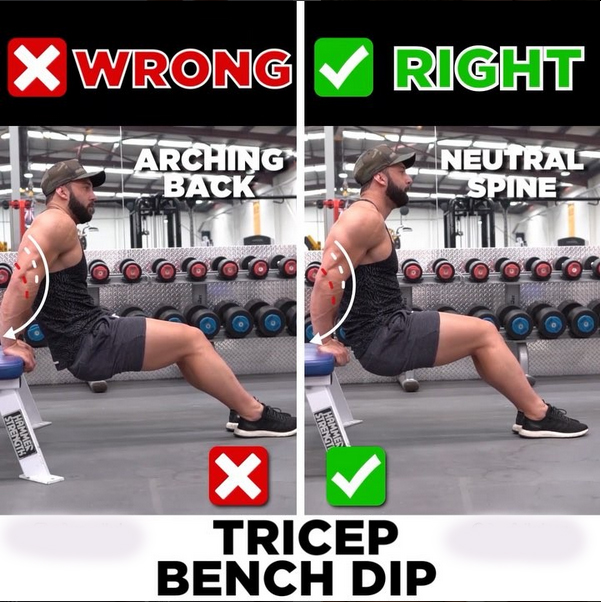 How to TRICEP DIPS