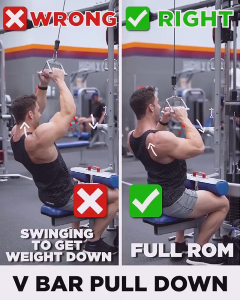 How to V BAR PULL DOWN