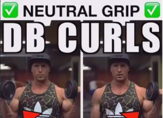 Neutral Angle Bicep Curl Routine
