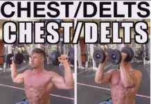 How to Cuban press (Chest & Shoulder Exercise)