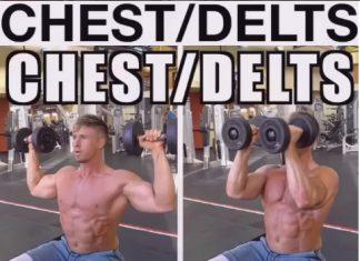 How toCuban press (Chest & Shoulder Exercise)