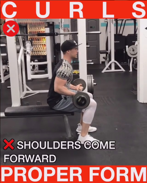 How to Seated Bicep Curls (DON'T RIGHT)