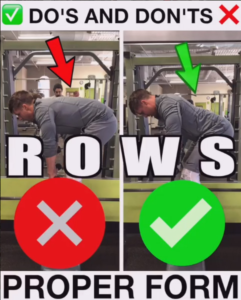 How to Bent Over Row Variation Proper Form