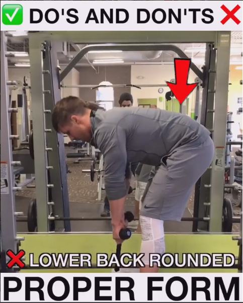 Bad Form - Bent Over Row Variation
