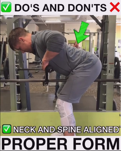 Good Form - Bent Over Row Variation