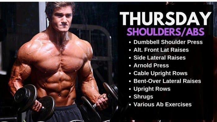 Jeff Seid Workout