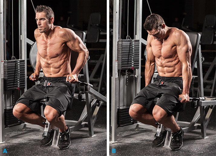 How to Dip Machine Exercise