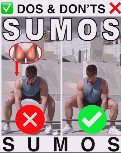 HOW TO SUMO SQUAT FORM