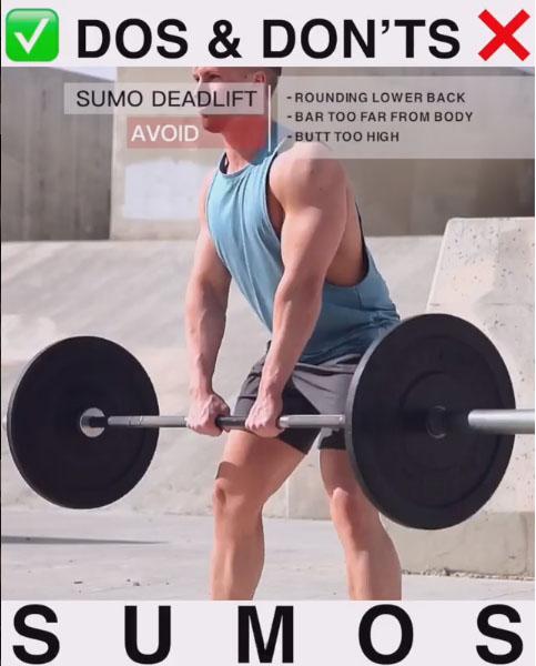 SUMO SQUAT FORM