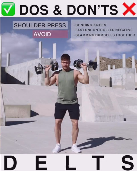 Avoid: Dumbbell Press