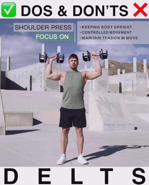 Focus on: Dumbbell Press