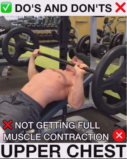 Upper Chest Smith Machine Press