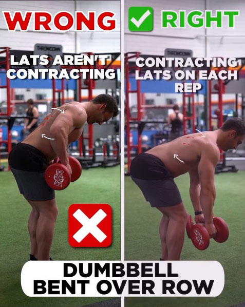 HOW TO DUMBBELL BENT OVER ROW