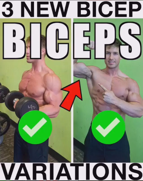 How to 3 Biceps Variation