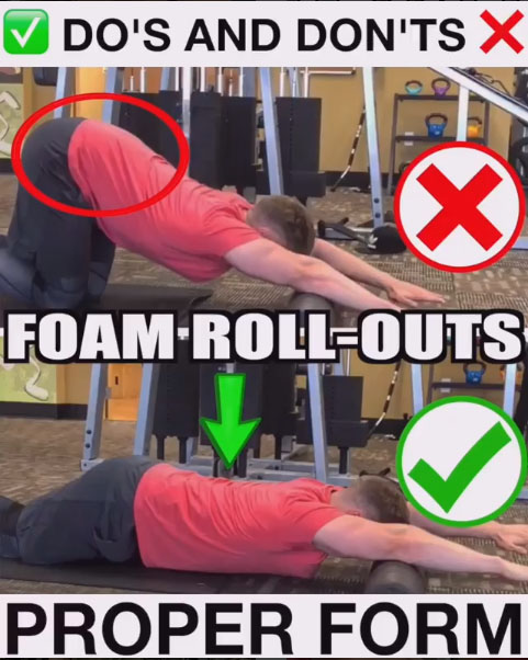 How to Foam-Roll-Outs