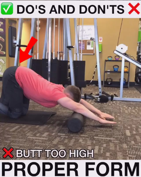NOT GOOD Foam-Roll-Outs