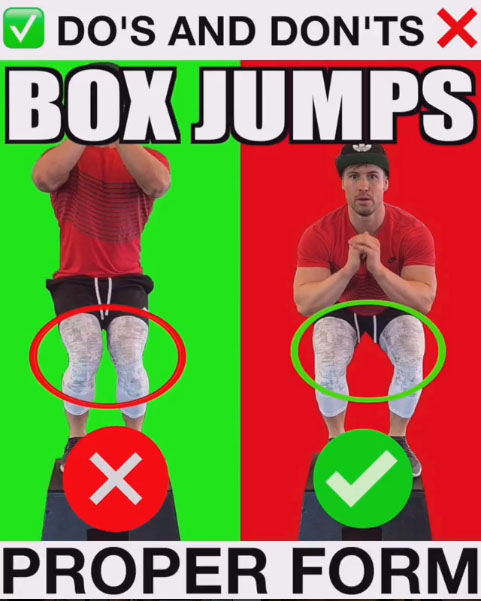 Box Jumps Proper Form