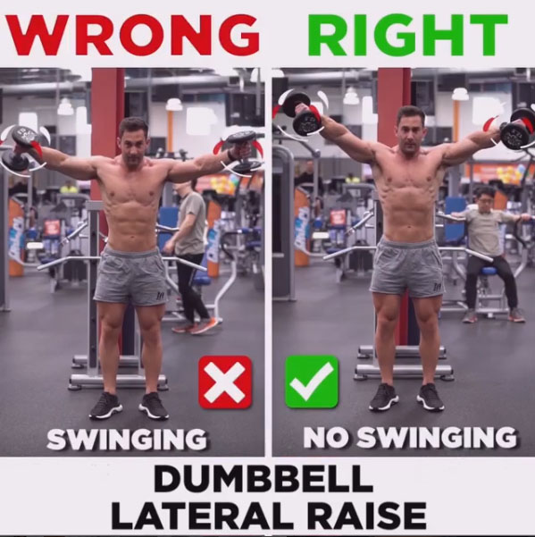 HOW TO EXECUTEDumbbell Lateral Raise
