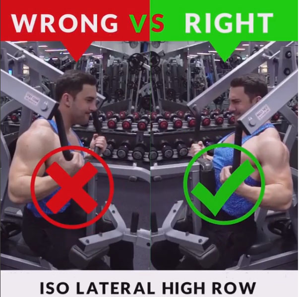 HOW TO ISO LATERAL HIGH ROW