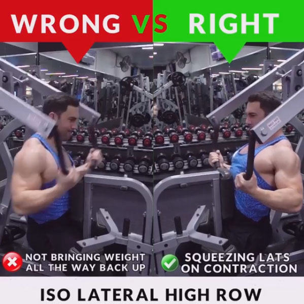 ISO LATERAL HIGH ROW