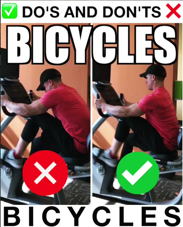 Bicycles Proper Form