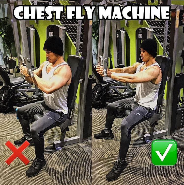 Chest Fly Machine Form