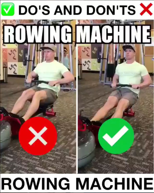 🚨How to Rowing Machine Proper Form