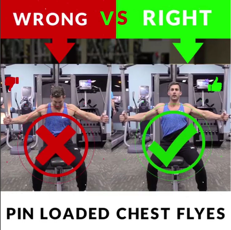 🚨PIN LOADED CHEST FLYES 👎WRONG VS 👍RIGHT