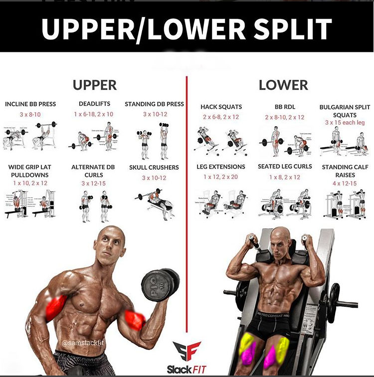 💥 Upper/Lower Workout💥