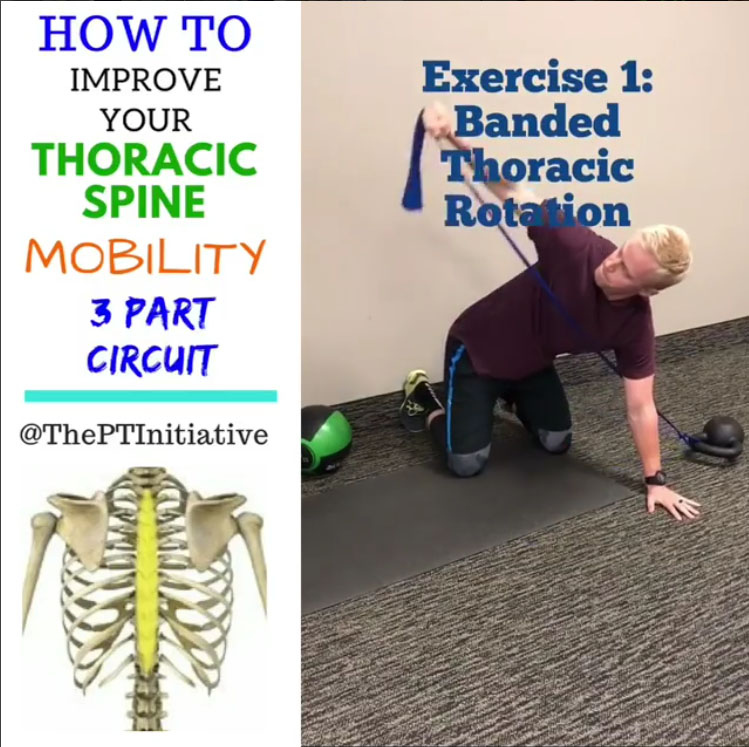 How to 3 Exercise Thoracic Spine Mobility