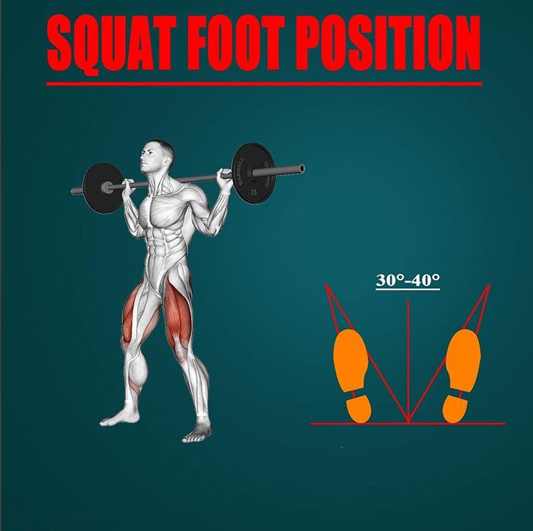 SQUAT FOOT POSITION