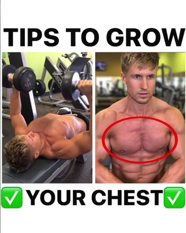 Tips To Grow Your Chest