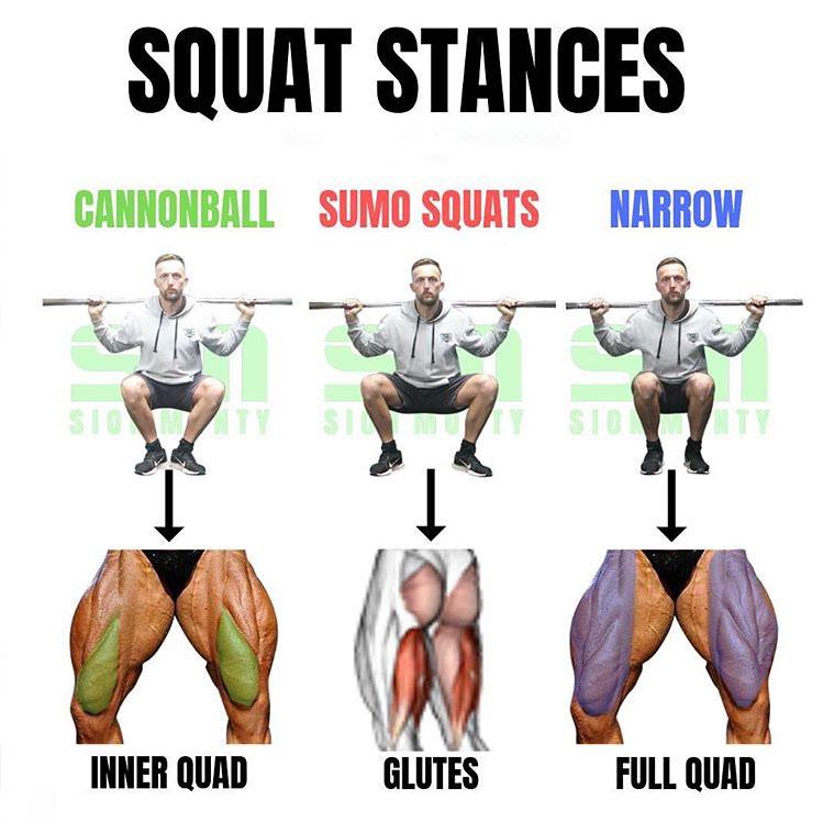Squat Stances