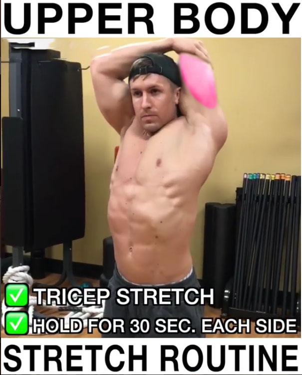 ✅Tricep Stretch
