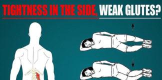 TIGHTNESS IN THE SIDE, WEAK GLUTE MED?