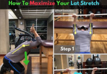 How to Maximize Your Lat Streatch