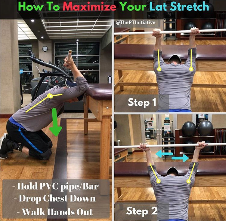 How to Maximize Your Lat Stretch