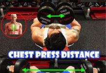 Chest Press Distance