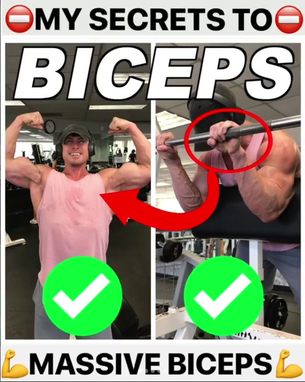 ⚠️TOP BICEP EXERCISES