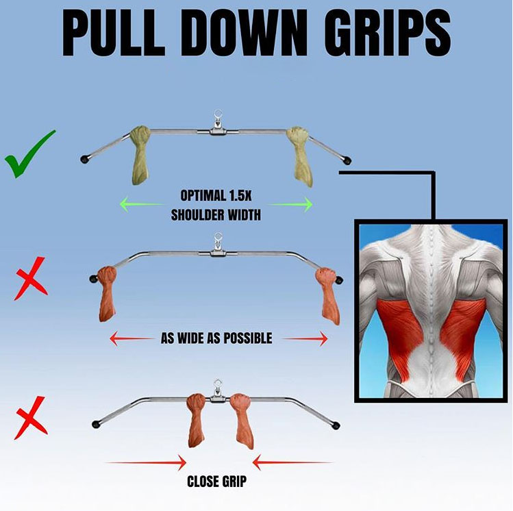 HOW TO PULL DOWN GRIPS| LAT PULL-DOWN
