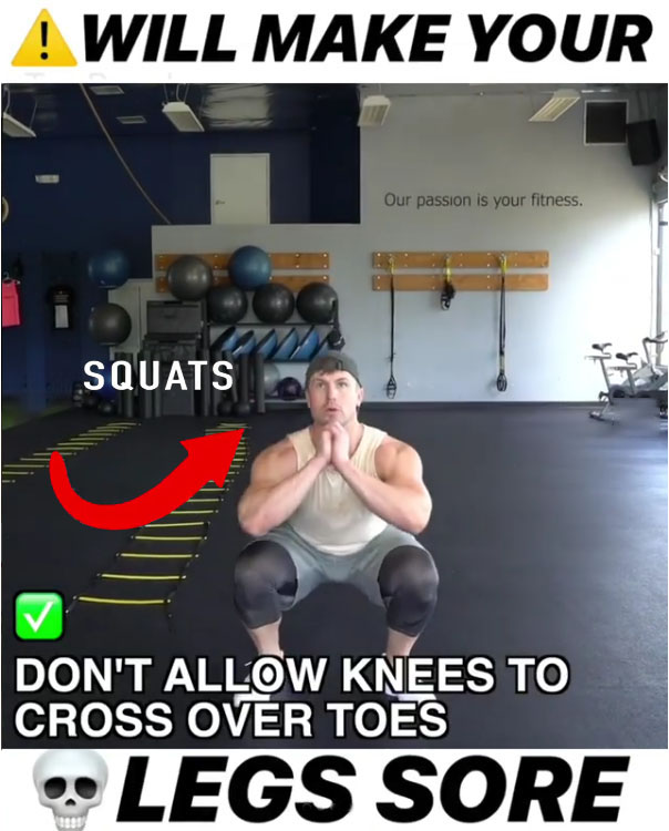💥Jumps Squats Legs Score