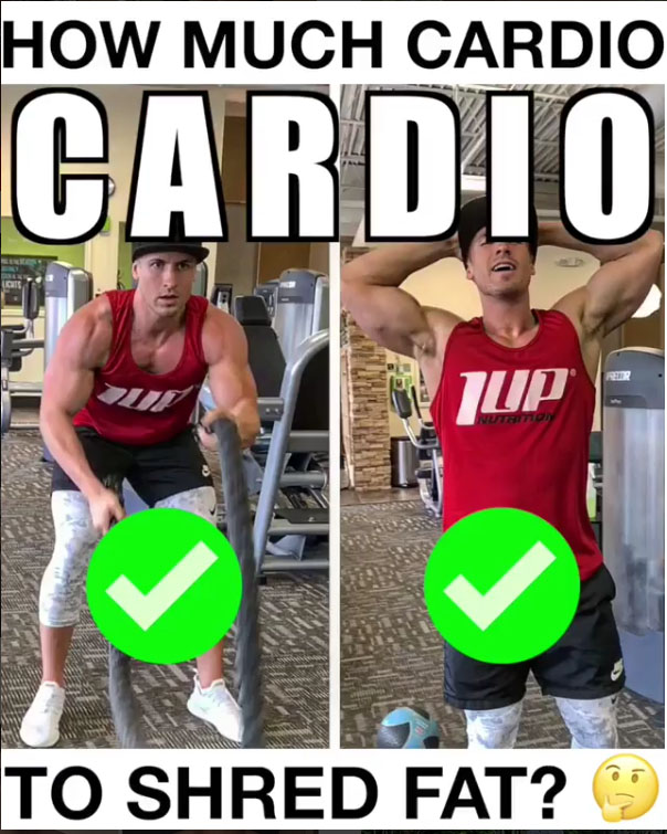 👇Cardio For Fat Loss