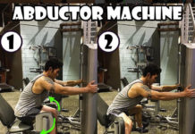 Exercise Abductor Machine