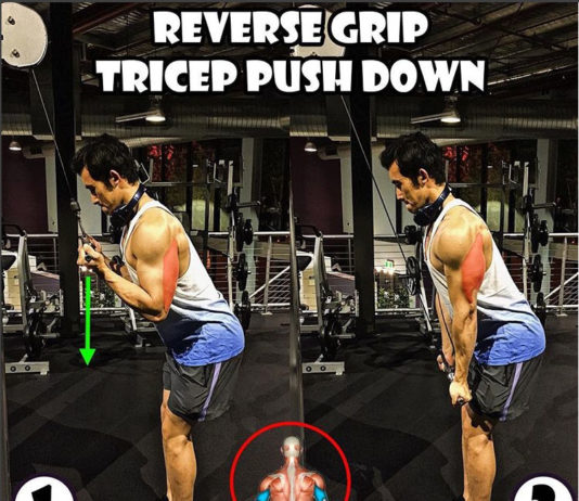 How to Reverse Grip Tricep Pushdown