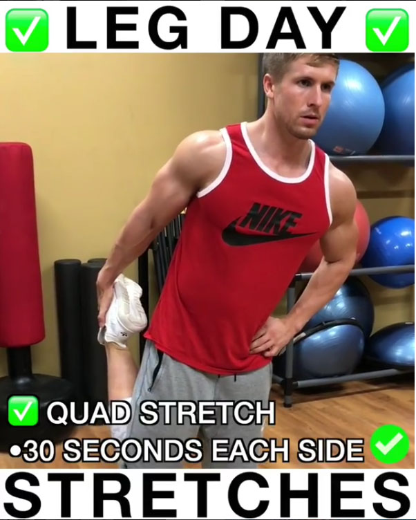 ✅Quad Stretch