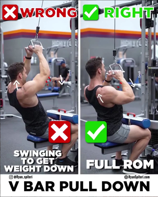 🚨VARIANT LAT PULL-DOWN 👇