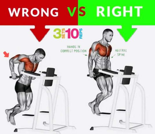 How to Do Triceps Dips