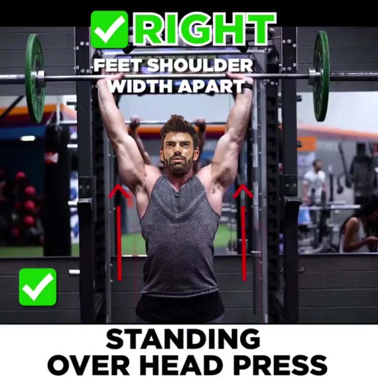 Right Variant Shoulder Press