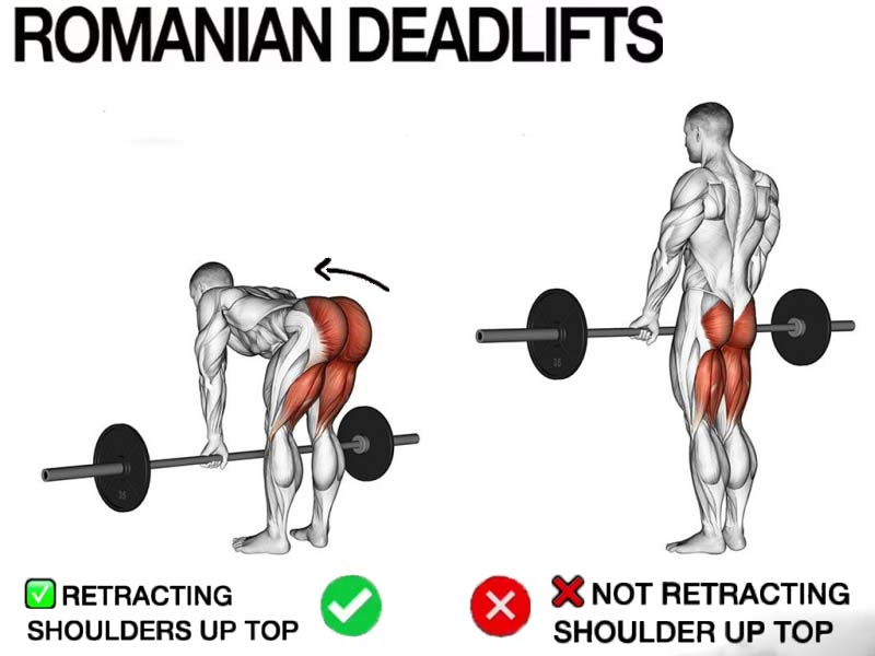 How to technique romanian deadlifts