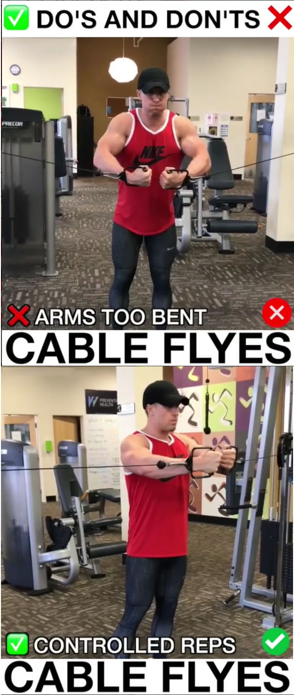 🚨Cable Flyes